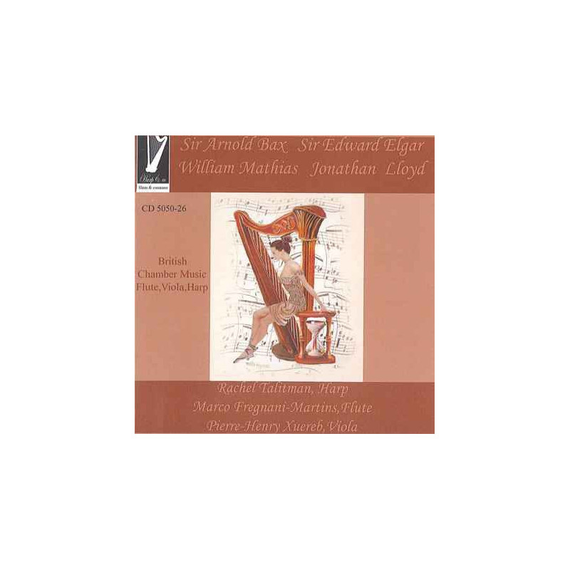 CD - British Chamber Music for flute, viola and harp