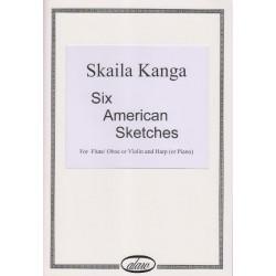 Kanga Skaila - Six American Sketches (fl