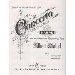 Zabel Albert - Concerto (partie harpe)