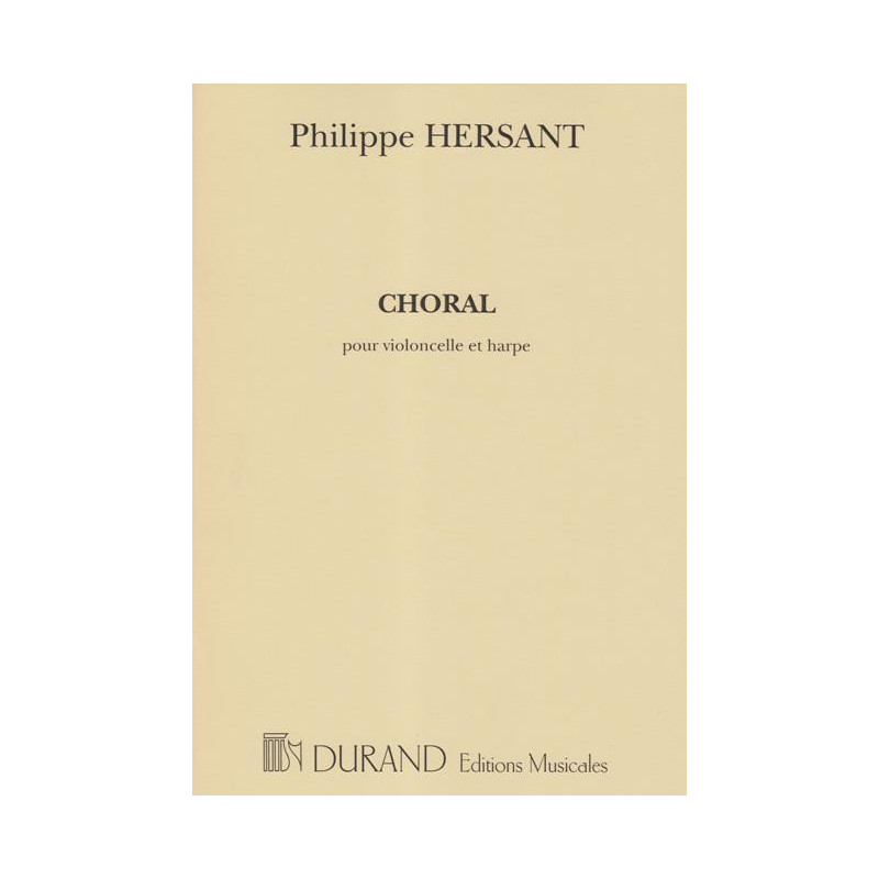 Hersant Philippe - Choral