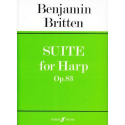 Britten Benjamin - Suite for Harp Op. 83