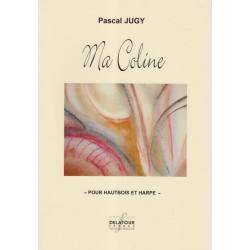 Jugy Pascal - Ma Coline (hautbois & harpe)