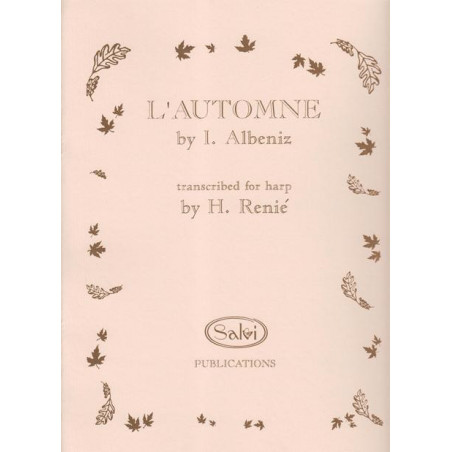 Albeniz Isaac - L'automne