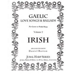 Burton Daniel - Gaelic love song and ballads Vol. 2 (harpe celtique - lever harp)Volume 2 Irish