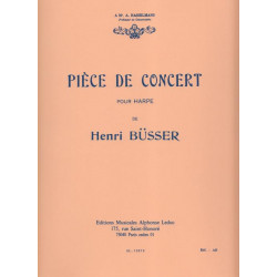 Busser Henri - Pièce de concert
