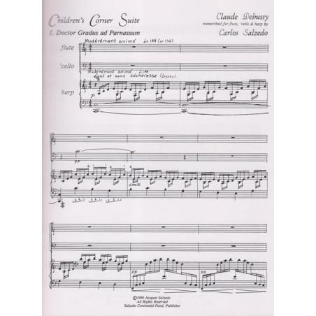 Debussy Claure - Children's Corner Suite (flute, violoncelle & harpe)