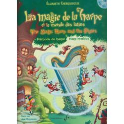 Cherquefosse Elizabeth - La magie de la harpe et le monde des lutins (avec CD)