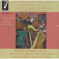CD - Talitman Rachel - French Chamber Music (flute, viola and harp)