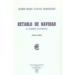 Calvo Manzano Maria Rosa - Retablo de la navidad