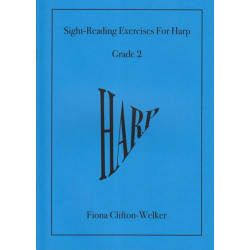Clifton-Welker Fiona - (Grade 2) Sight-Reading Exercises for Harp