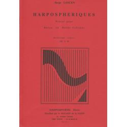 Lancen Serge - Harposphériques  2° cahier VII à XI