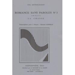 Mendelssohn Felix - Romance sans paroles n°3 La chasse (Op.12 n°