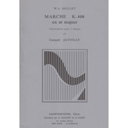 Mozart Wolfgang Amadeus - Marche en ut majeur K 408