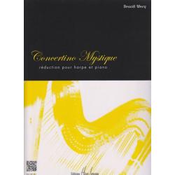 Wery Benoît - Concertino Mystique (réd. harpe et piano)