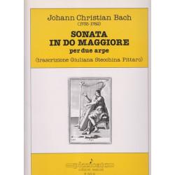 Bach Johann Christian - Sonata in do maggiore (due arpe)