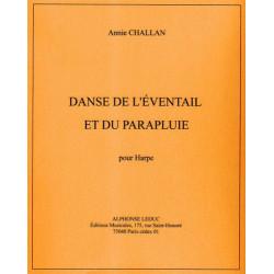 Challan Annie - Danse de l'éventail & du parapluie pour harpe celtique ou harpe