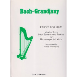 Bach Johann Sebastian - Grandjany Marcel - Etudes
