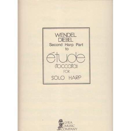 Diebel Wendel - Etude (toccata) partie 2ème harpe