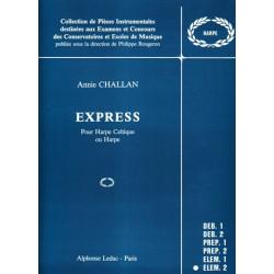 Challan Annie - Express pour harpe celtique ou harpe