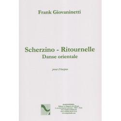 Giovaninetti Franck - Recueil pour deux harpes