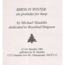 Mauldin Michael - Birds in winter