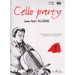 Allerme Jean-Marc - Cello party (avec cd)