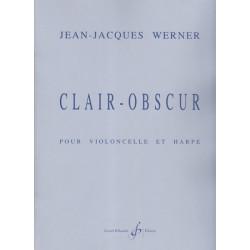 Werner Jean-Jacques - Clair - Obscur (violoncelle & harpe)