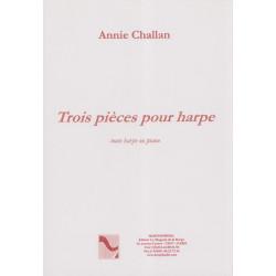 Challan Annie - 3 pièces (harpe celtique ou classique ou piano)