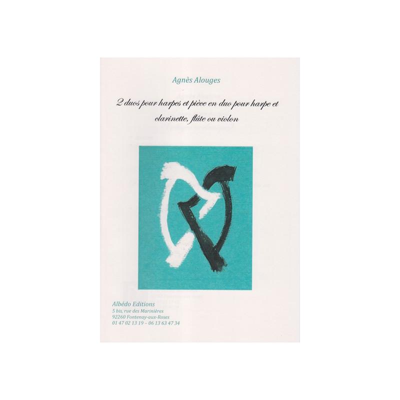 Alouges Agnès - Deux duos et une pièce en duo