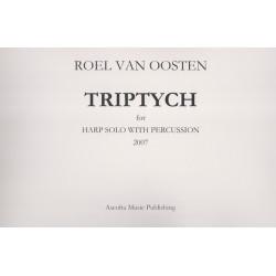 Oosten Roel van - Triptych (harp & percussion)