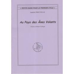Frouvelle Isabelle - Au pays des ânes volants (Violon & harpe celtique)
