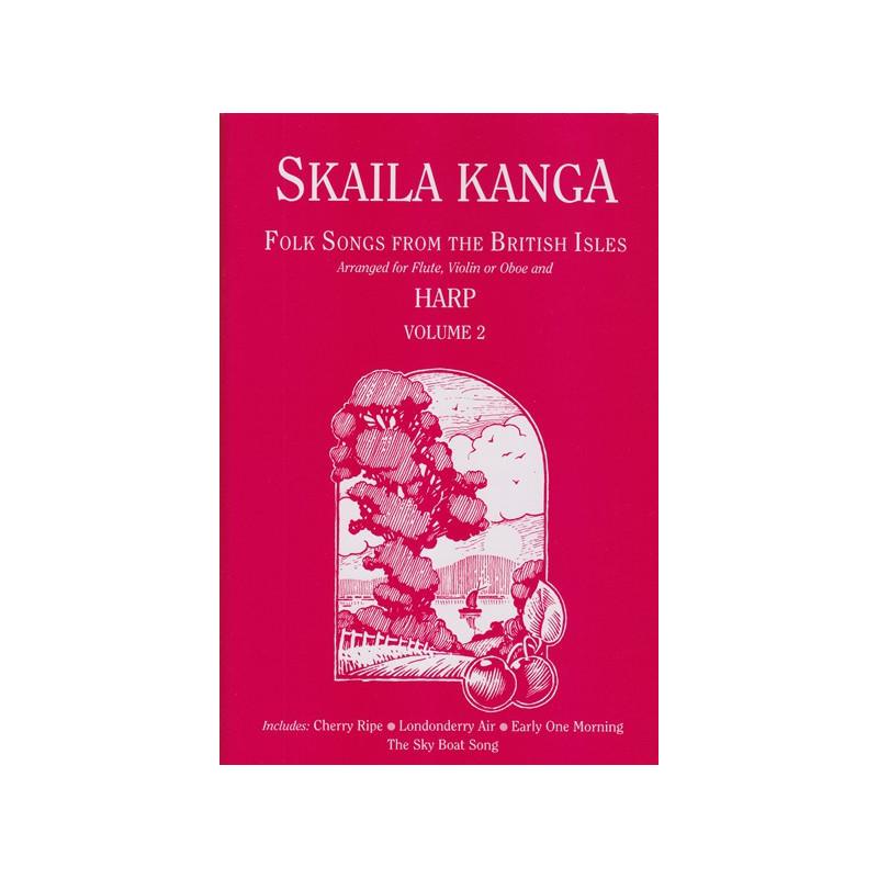 Kanga Skaila - Folk Songs from the British Isles Vol. 2 (flûte, violon ou hautbois & harpe)