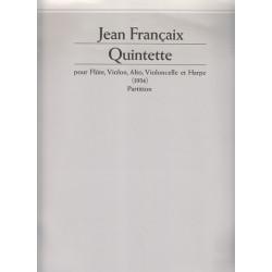 Françaix Jean - Quintette (conducteur)