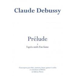 Debussy Claude - Prélude à l'après midi d'un faune (Fabrice Pierre)