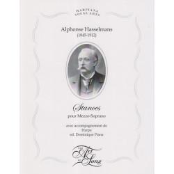 Hasselmans Alphonse - Stances (mezzo-soprano & harp)