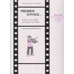 Voirpy Alain - Premier voyage vol.1 (alto & piano ou harpe)