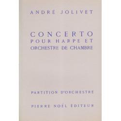 Jolivet André - Concerto (conducteur)