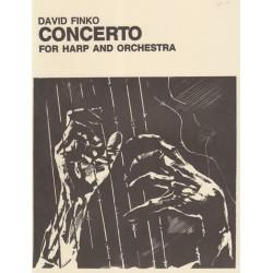 Finko David - Concerto for harp and orchestra (full score)