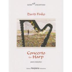 Finko David - Concerto for harp and orchestra (Piano reduction)