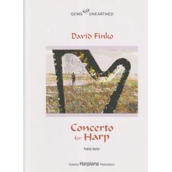 Finko David - Concerto for harp and orchestra (harp part)