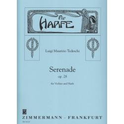 Tedeschi Luigi Maurizio - Sérénade op.28 (Violon & harpe)