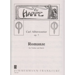Alberstoetter Carl - Romance op.7 (violine und harfe)