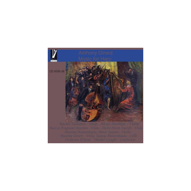 CD - Talitman Rachel - Anthony Girard - Music for Harp