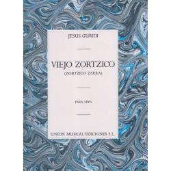 Guridi Jesus - Viejo Zortzico (Zortzico Zarra) para arpa