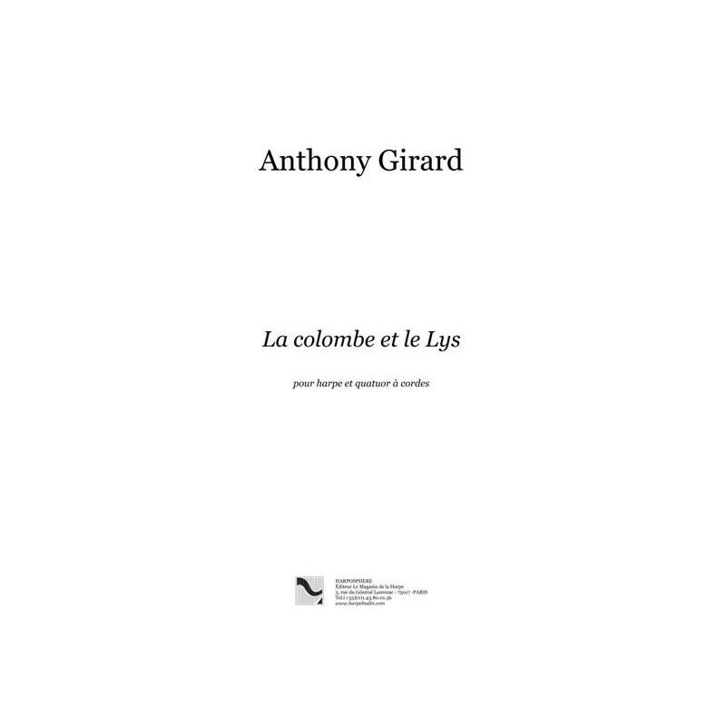 Girard Anthony - Entre le souffle et le murmure (flûte, alto et harpe)