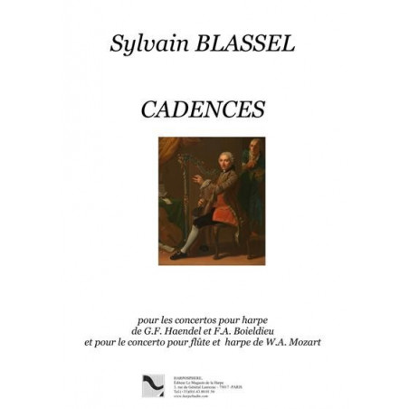 Blassel Sylvain - Cadences (Haendel-Boieldieu-Mozart)