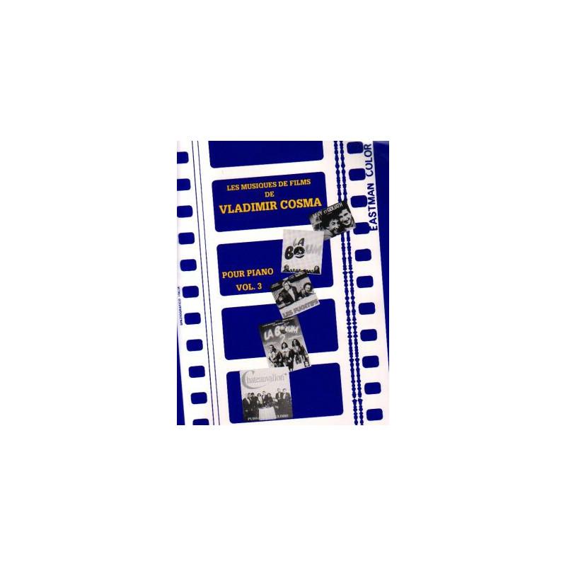 Cosma Vladimir - Les musiques de film vol. 3 (piano)