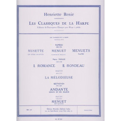 Renié Henriette - Les classiques de la harpe n° 1