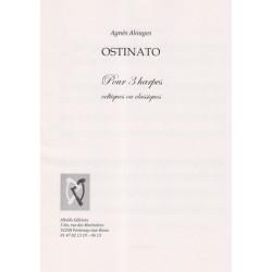 Alouges Agnès - Ostinato (3 harpes)