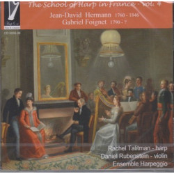 CD - Talitman Rchel - The School of Harp in France Vol.4
